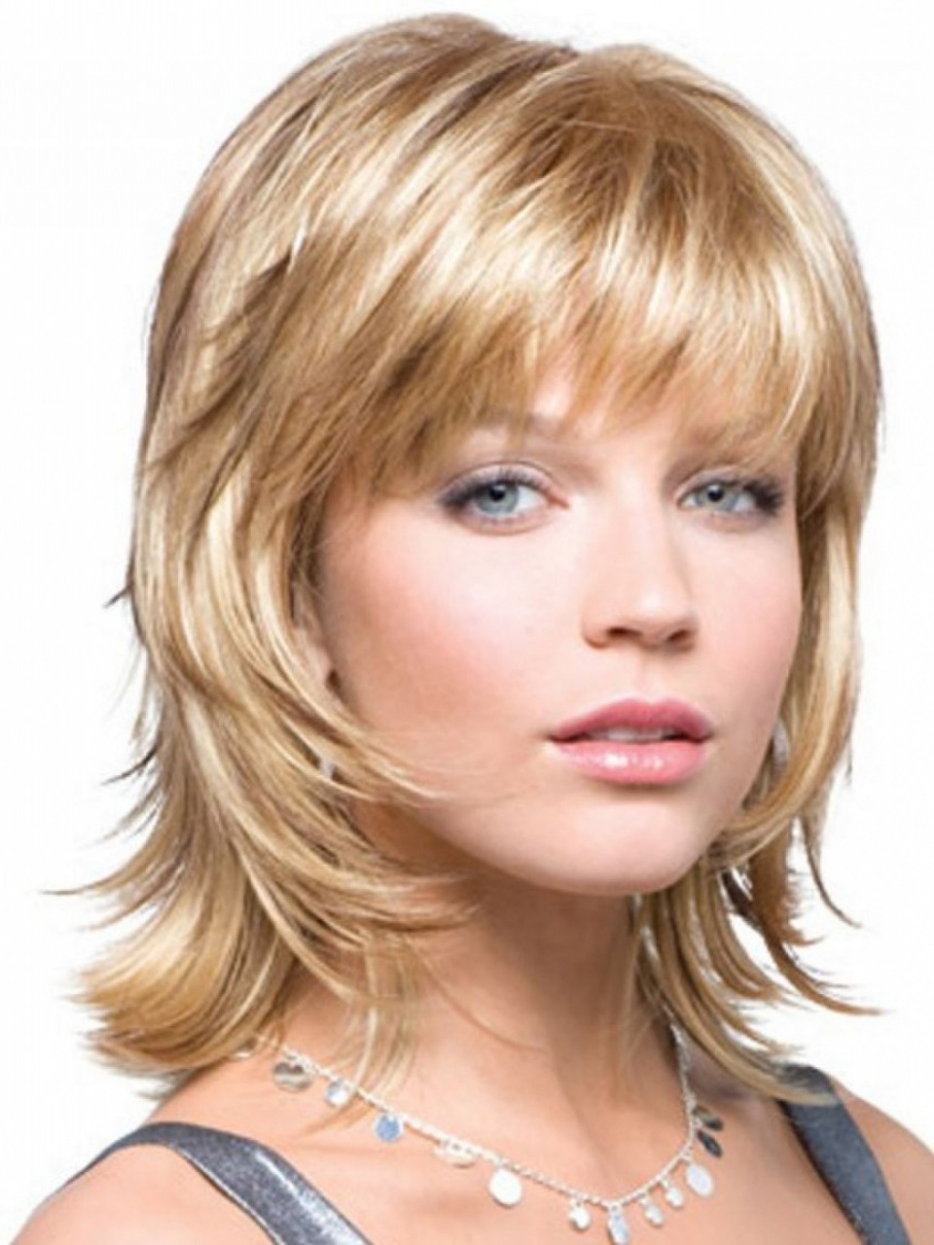 Well Liked Medium Hairstyles With Glasses With Regard To 20 Medium Length Hairstyles For Over 50 With Glasses Luxury Medium (View 7 of 20)