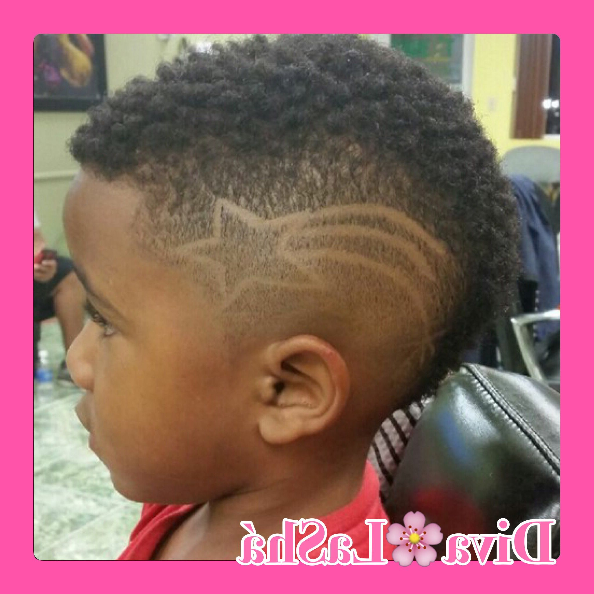 Well Liked Mohawks Hairstyles With Curls And Design Regarding Kids Mohawk Mohawk Fade Blend Female Barber Hair Art Hair Design (View 20 of 20)