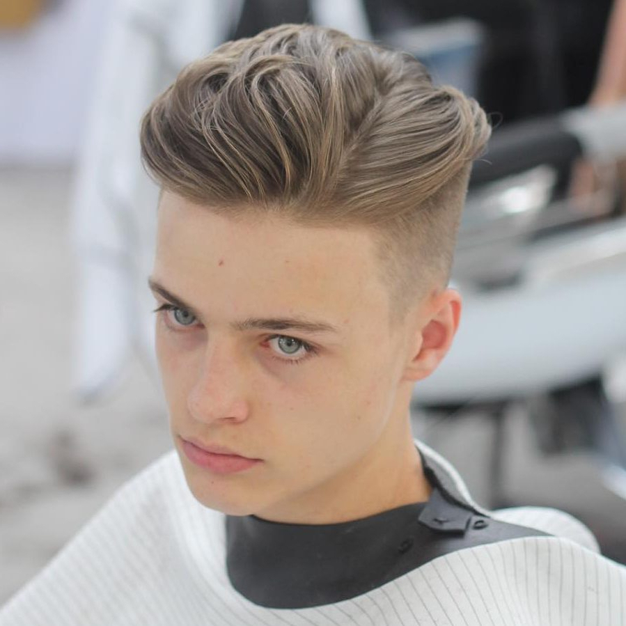 Well Liked One Sided Medium Hairstyles Pertaining To One Side Long Medium Hairstyle Medium Hairstyles For Men – Gallery (View 19 of 20)