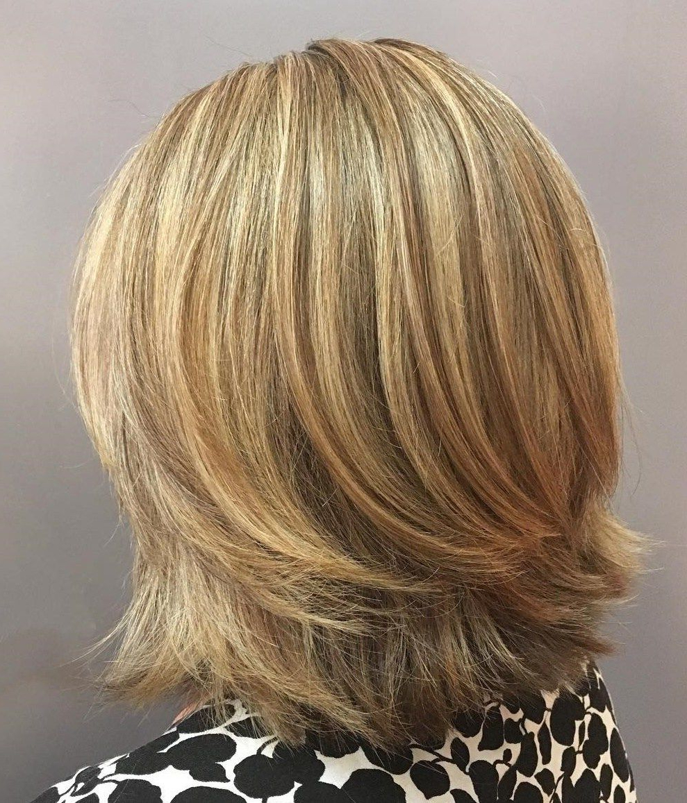 Well Liked Two Tier Lob Hairstyles For Thick Hair For 70 Brightest Medium Layered Haircuts To Light You Up In (View 2 of 20)