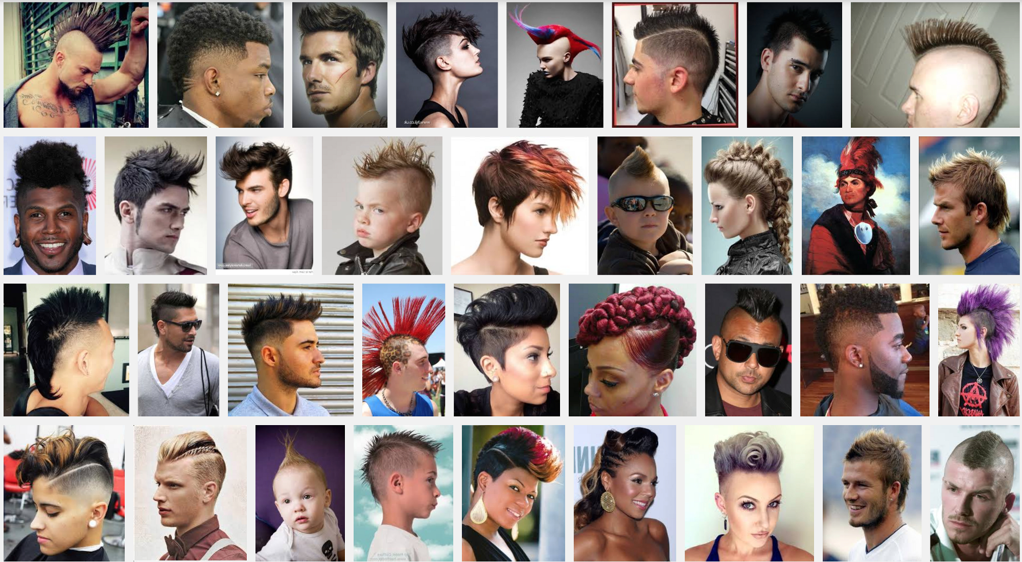 Why We Don't Wear Mohawks (View 19 of 20)