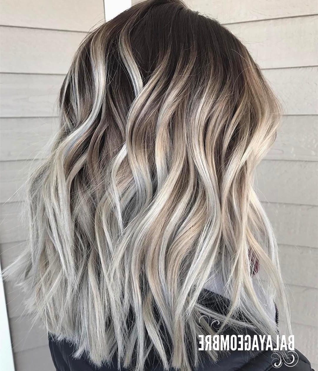 Widely Used Ash Blonde Medium Hairstyles Intended For 10 Best Medium Layered Hairstyles 2019 – Brown & Ash Blonde Fashion (View 2 of 20)