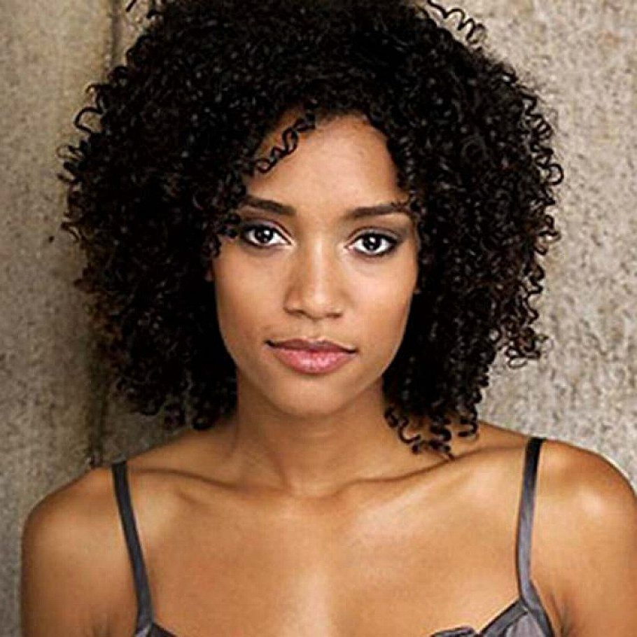 Widely Used Black Women Natural Medium Hairstyles With Regard To 2017 Black Girl Curly Hairstyles To Bring Your Dream Hairstyle Into (View 11 of 20)