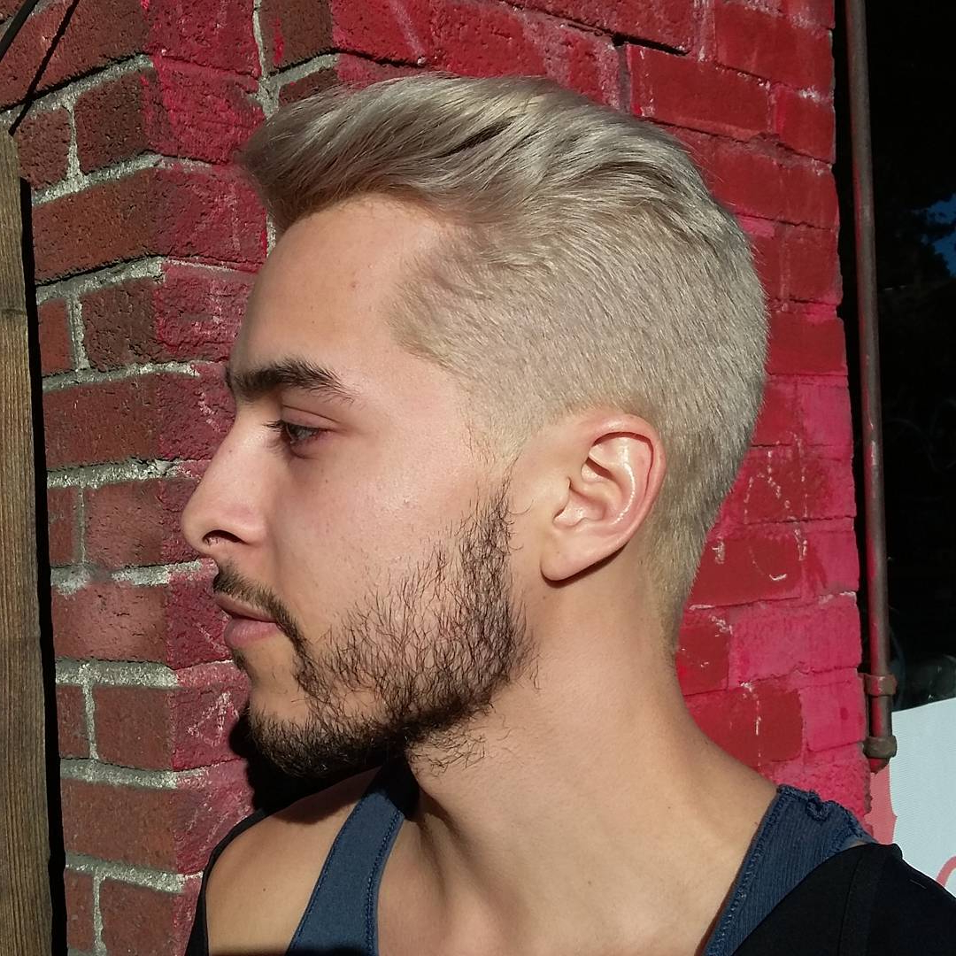 Widely Used Bleached Mohawk Hairstyles Inside 25 Ideas For Men's Bleached Hair – The Bolder The Better (View 20 of 20)