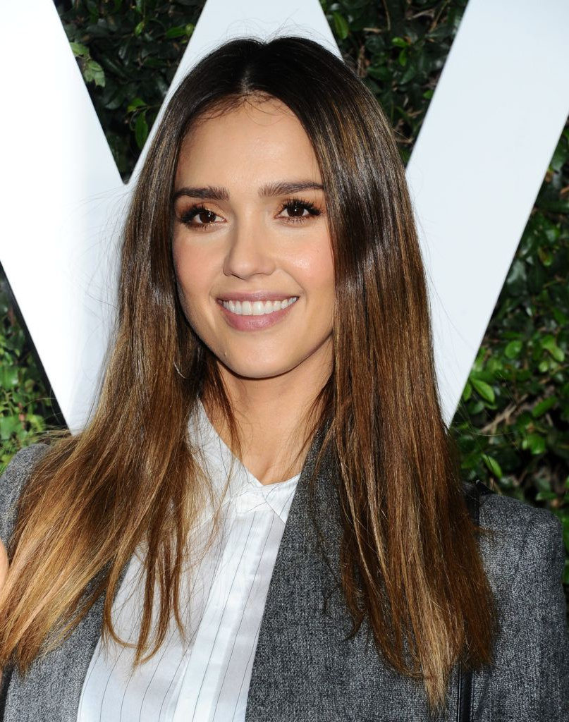 Widely Used Jessica Alba Medium Haircuts Inside 8 Celeb Styles That Prove Balayage Straight Hair Is Always A Good (View 19 of 20)