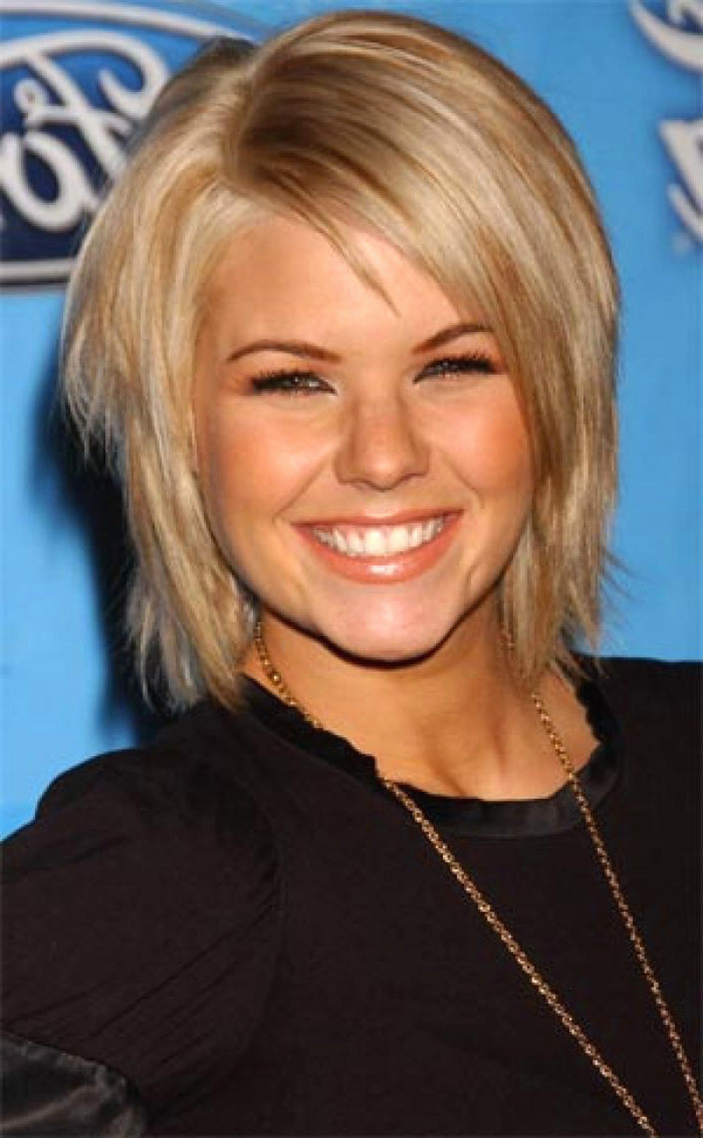 Widely Used Medium Hairstyles Fine Straight Hair In Short To Medium Hairstyles 2017 Unique Typical Short Haircuts For (View 20 of 20)