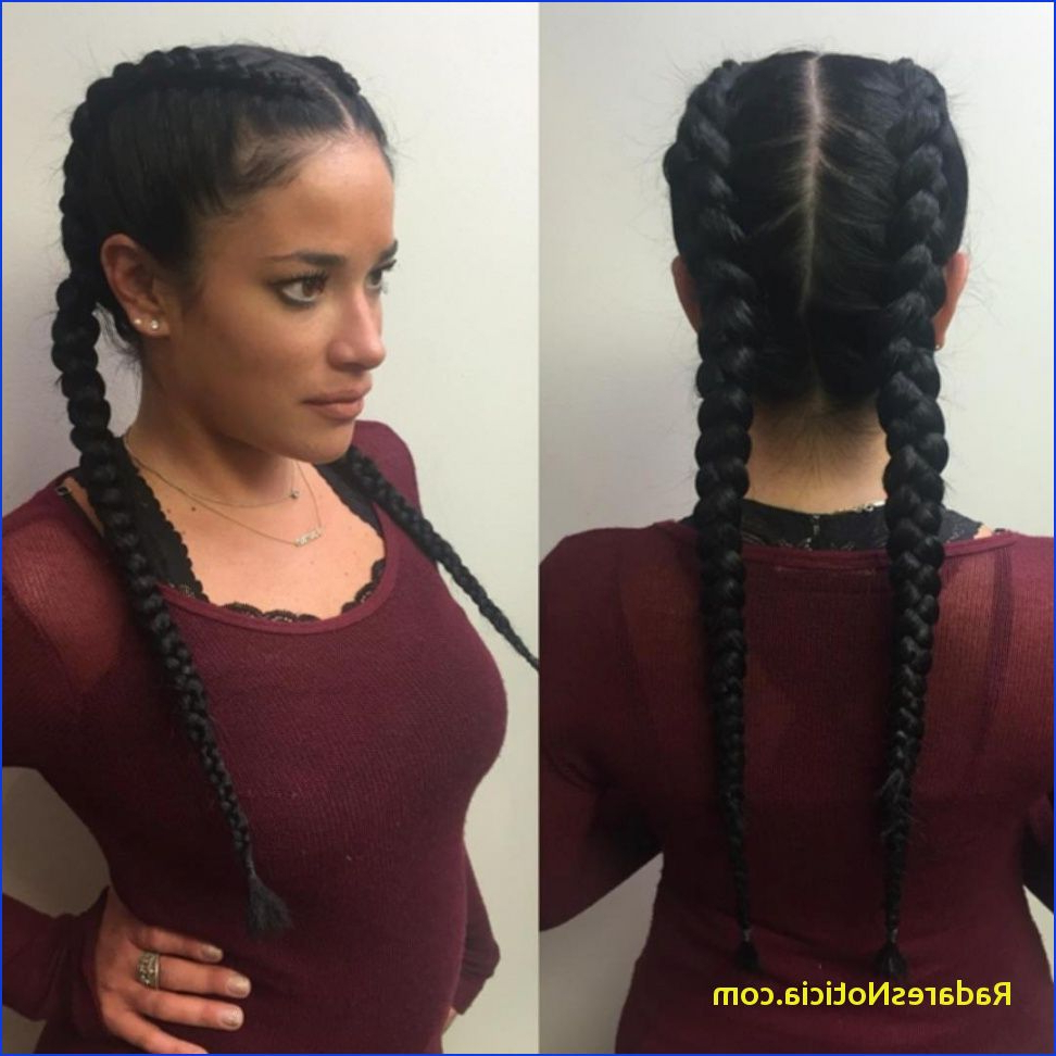 Widely Used Medium Hairstyles For African American Hair In Braided Hairstyles For African American Two French Braid Hairstyles (View 15 of 20)