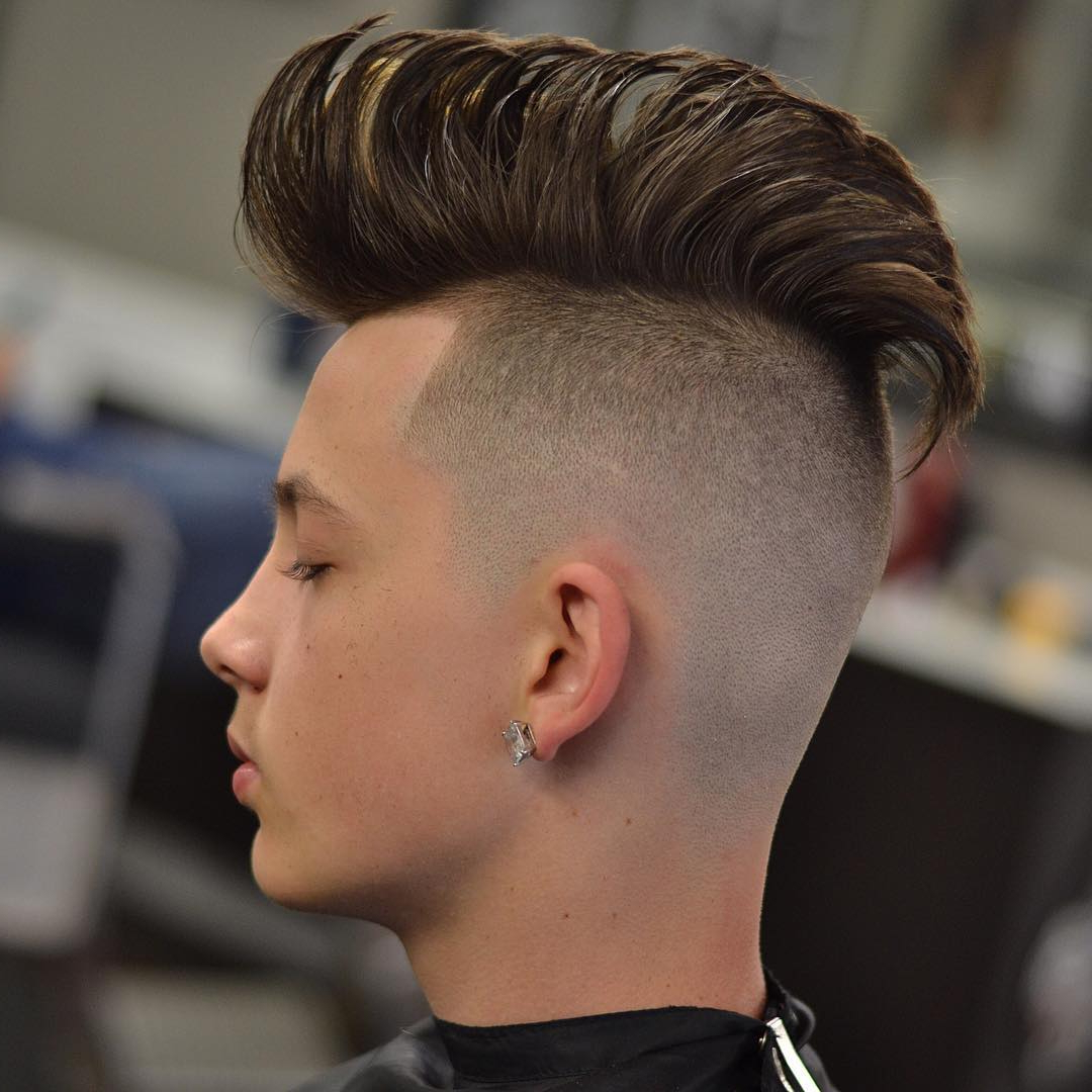 Widely Used Voluminous Tapered Hawk Hairstyles For 15 Mohawk Hairstyles For Men To Look Suave – Haircuts & Hairstyles (View 20 of 20)
