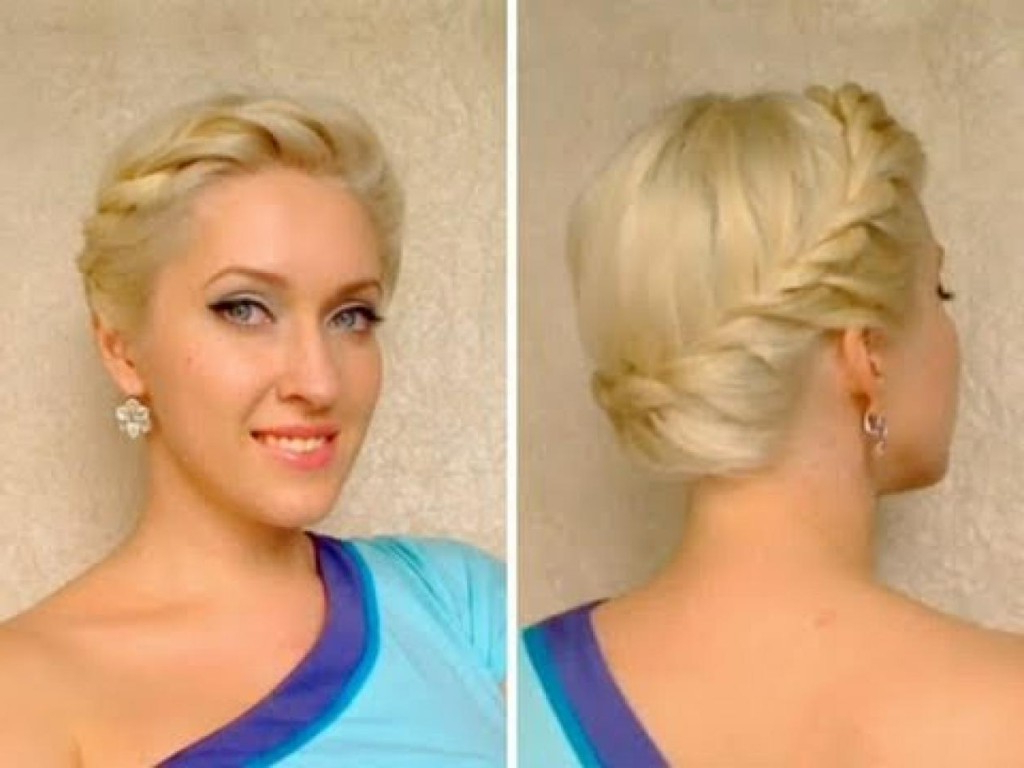 Women Hairstyle : Drop Gorgeous Top Updo Hairstyles For Formal Within Famous Medium Hairstyles For Formal Event (View 20 of 20)