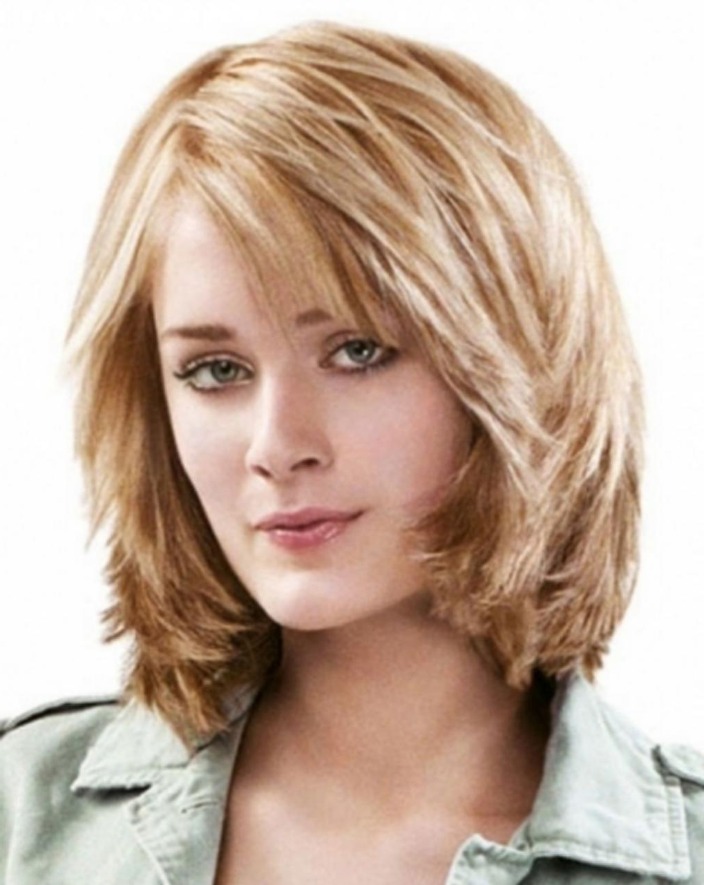 Women Hairstyle : Edgy Medium Length Haircuts For Thick Hair June In Most Up To Date Mid Length Haircuts With Curled Layers (View 20 of 20)