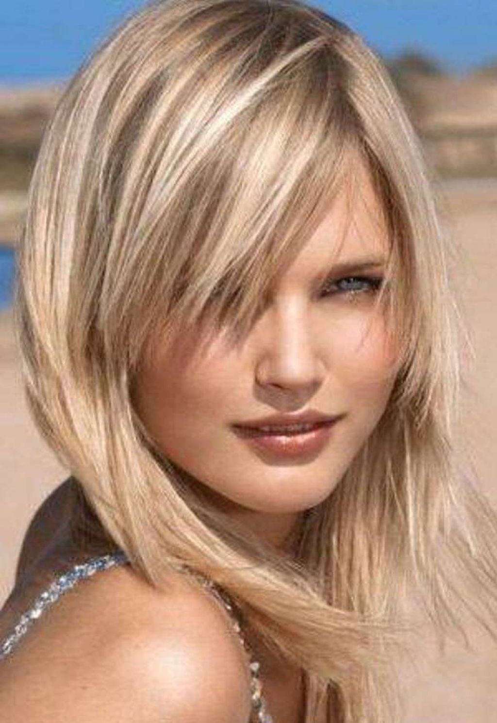 Women Hairstyle : Hairstyles For Fine Hair Female Round With Fringe Pertaining To Most Up To Date Medium Haircuts For Fine Thin Hair (View 6 of 20)