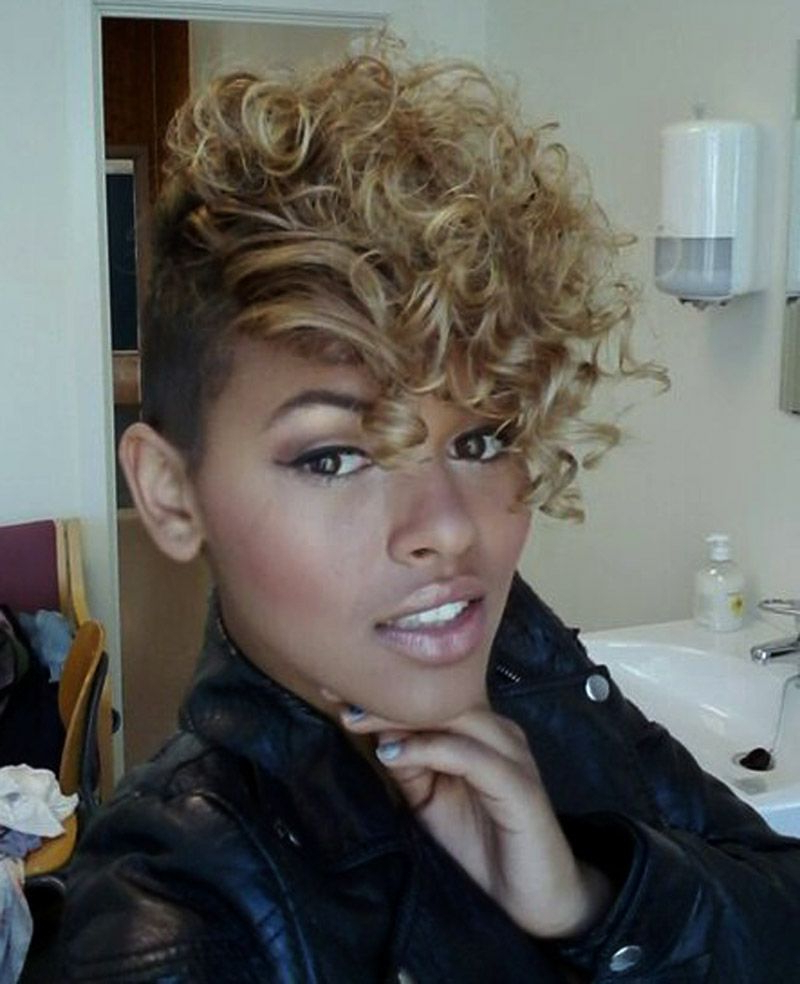 Womens Hairstyles With Regard To Trendy Blonde Mohawk Hairstyles (View 7 of 20)