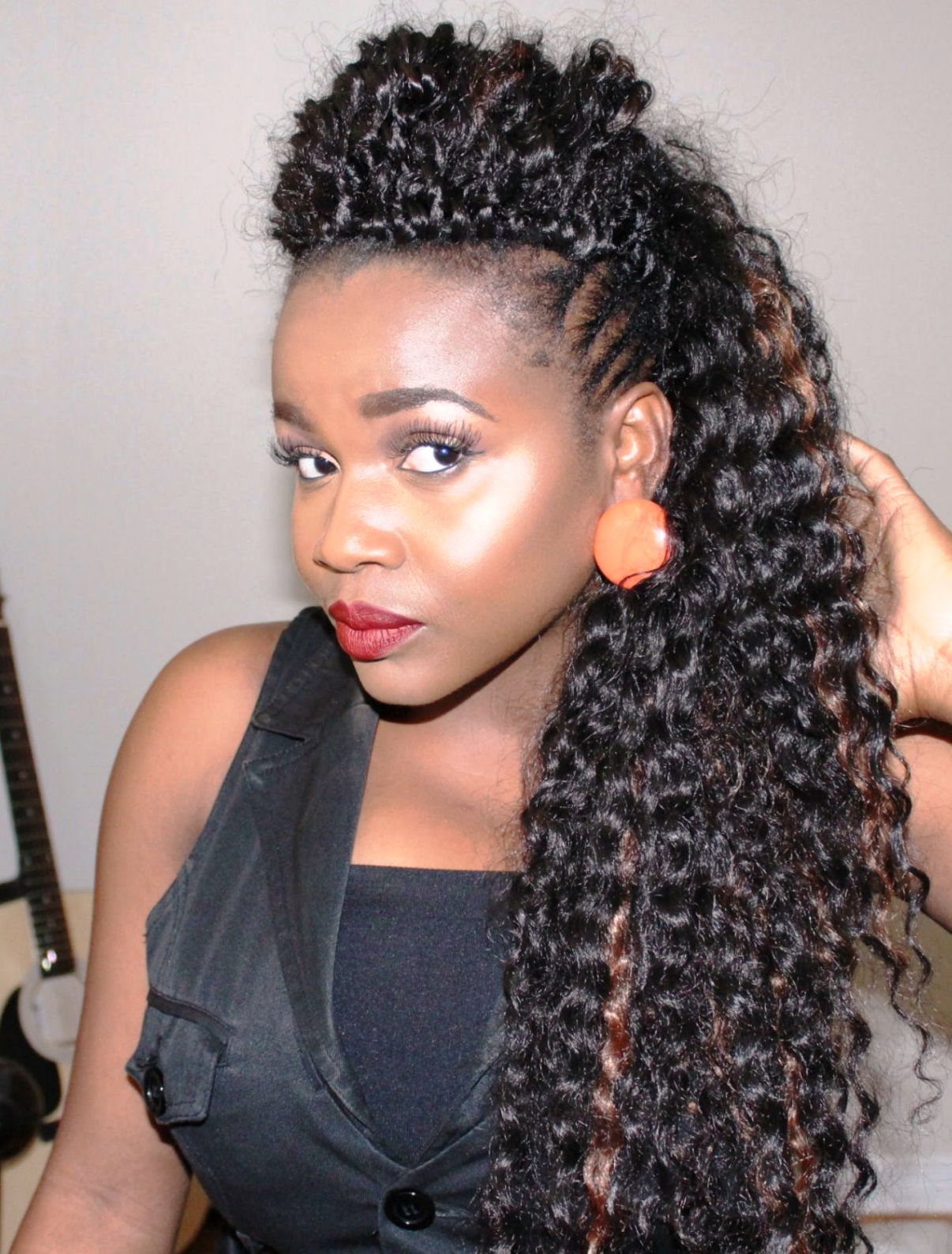 You Can Create Great Hairdos With Braids Hairstyles – Fantasies Hair In Famous Twist Curl Mohawk Hairstyles (View 20 of 20)