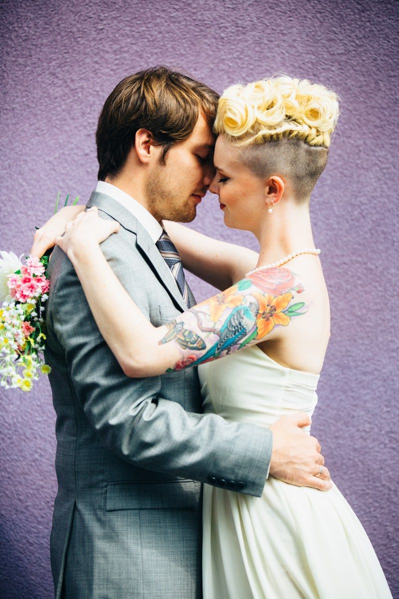 Your Wedding Theme, Venue, Or Hair Could Get You A Slammin In Most Recently Released Wedding Day Bliss Faux Hawk Hairstyles (View 20 of 20)