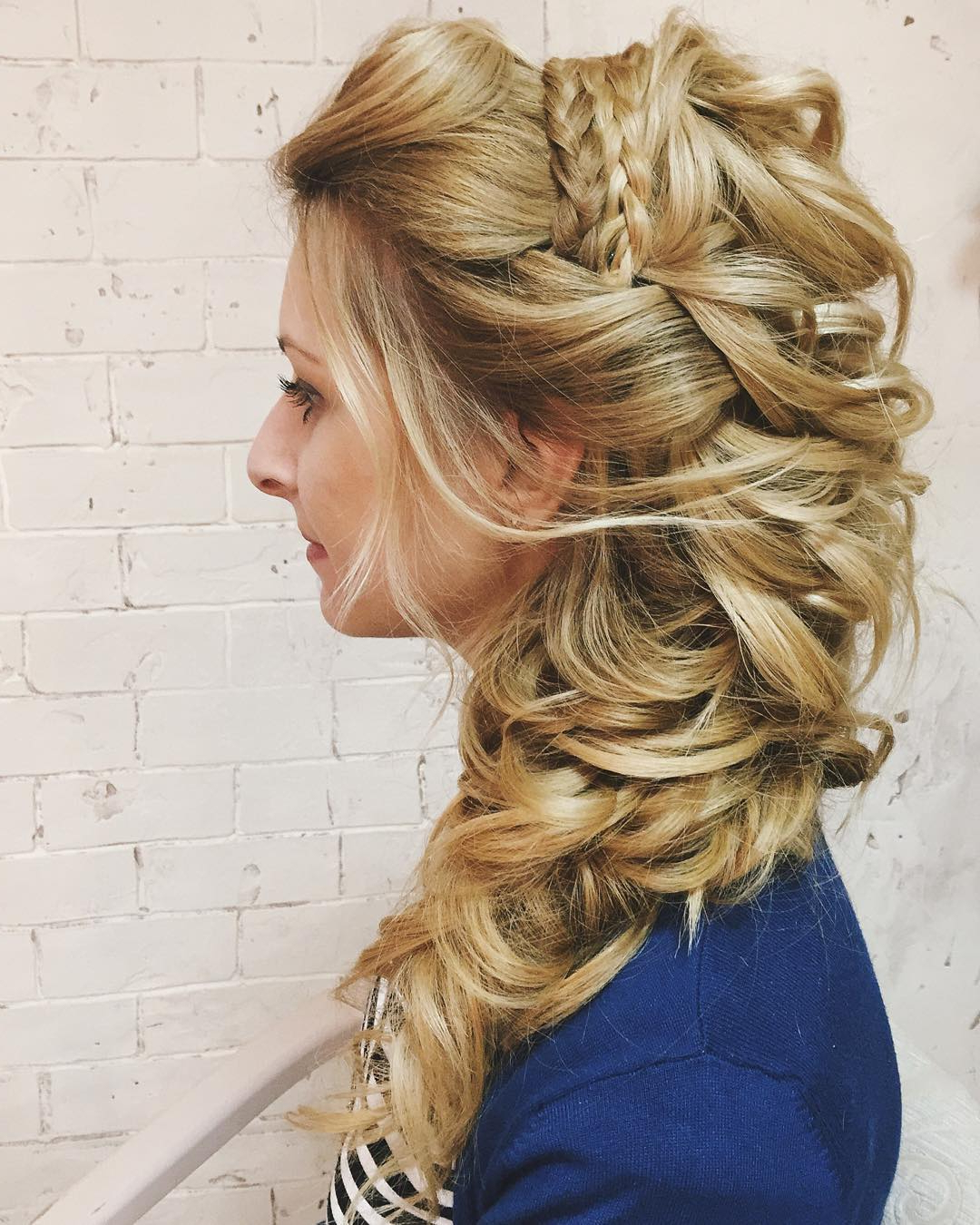 10 Lavish Wedding Hairstyles For Long Hair – Wedding Hairstyle Ideas Within 2017 Embellished Caramel Blonde Chignon Bridal Hairstyles (Gallery 20 of 20)