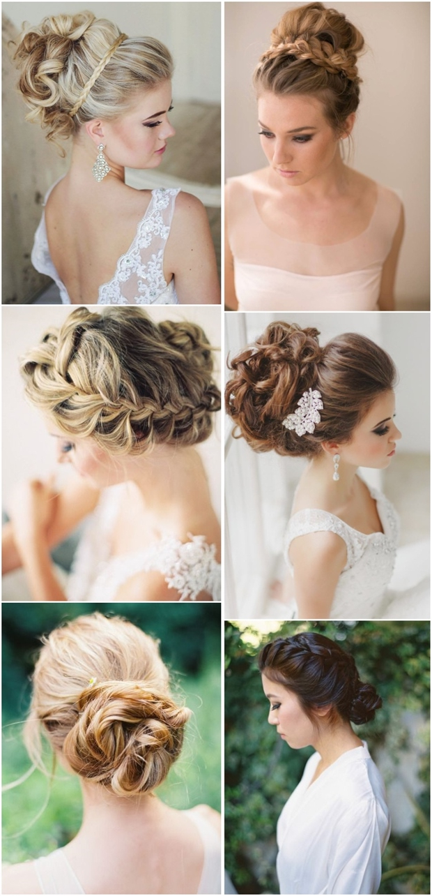 15 Braided Wedding Hairstyles That Will Inspire (With Tutorial Regarding Recent Highlighted Braided Crown Bridal Hairstyles (View 1 of 20)