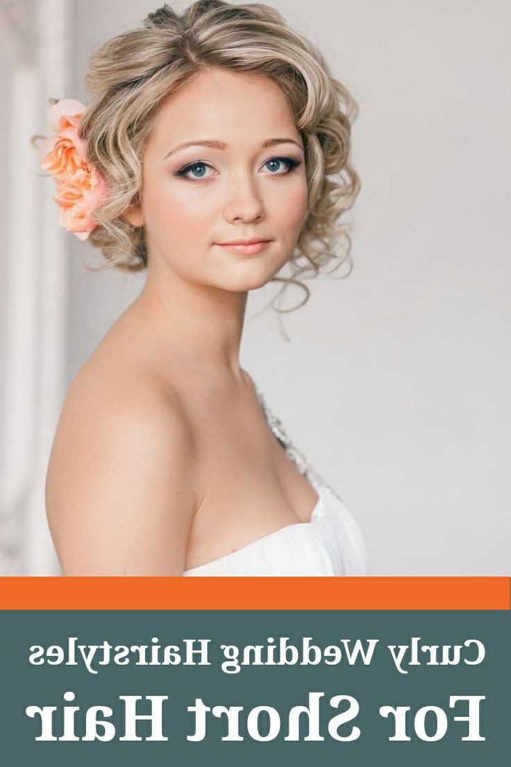 15 Fantastic Short Wedding Hairstyles (View 4 of 20)
