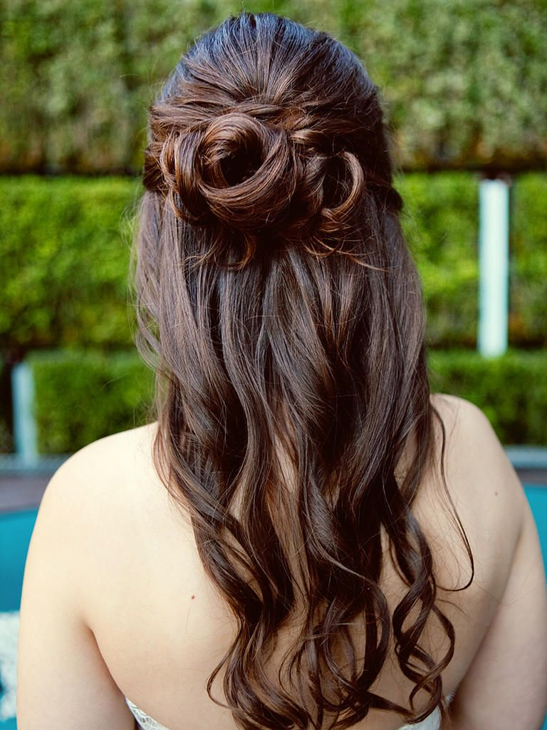 15 Half Up Wedding Hairstyles For Long Hair (View 1 of 20)