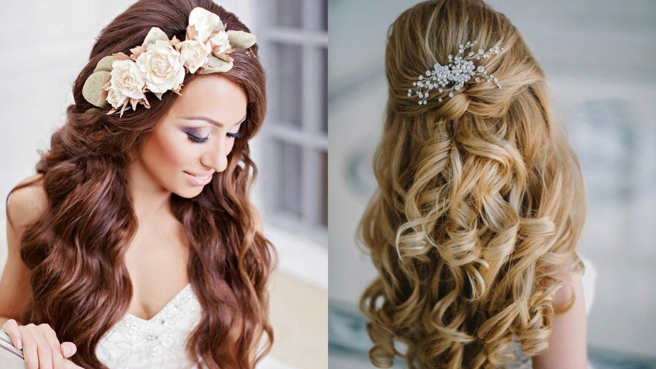15 Summer Wedding Hairstyles For Women To Look Hot – Haircuts With Most Current Pulled Back Layers Bridal Hairstyles With Headband (View 15 of 20)