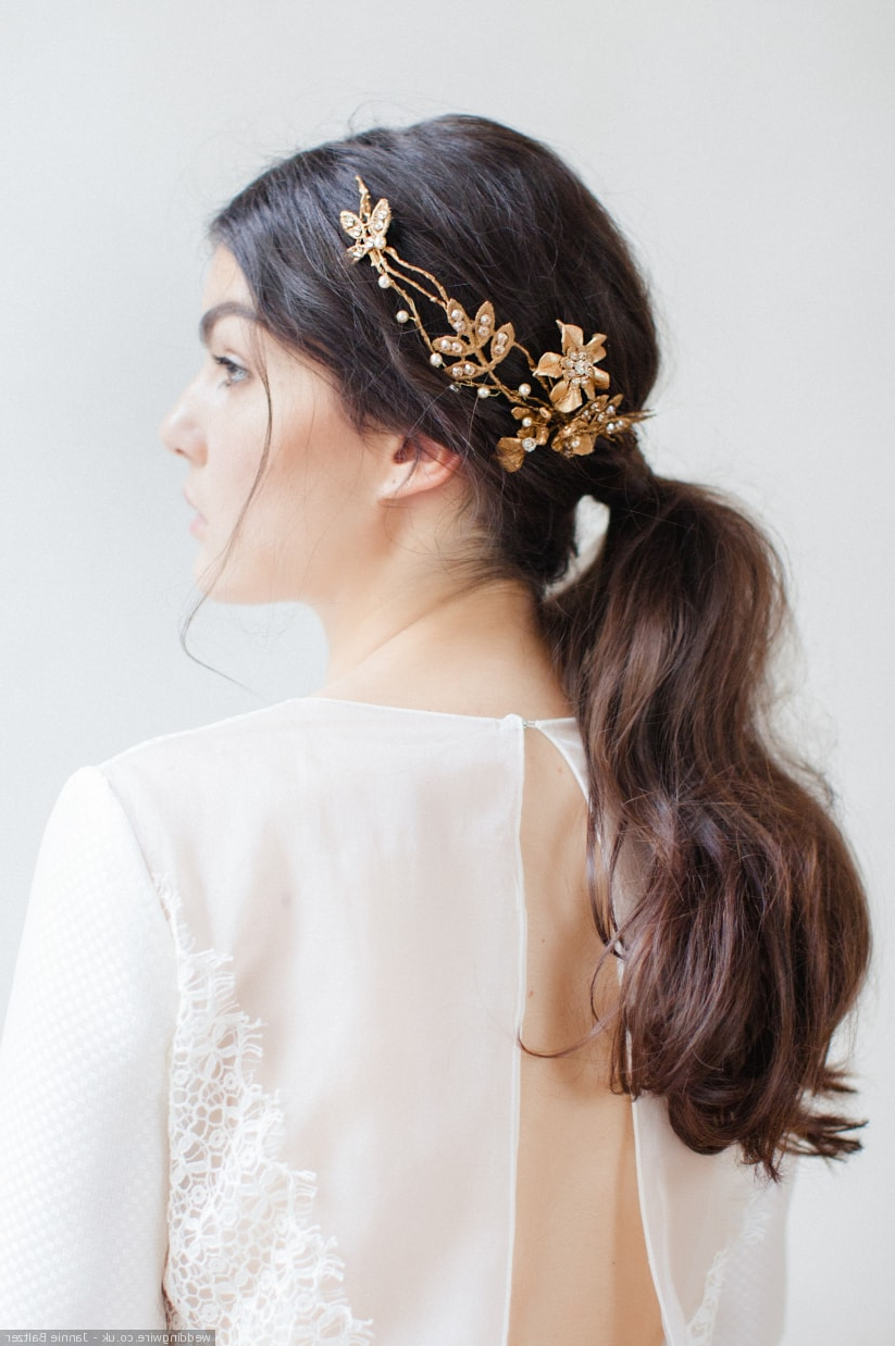 15 Wedding Hair Accessories You Need To Know With Best And Newest Bedazzled Chic Hairstyles For Wedding (View 13 of 20)