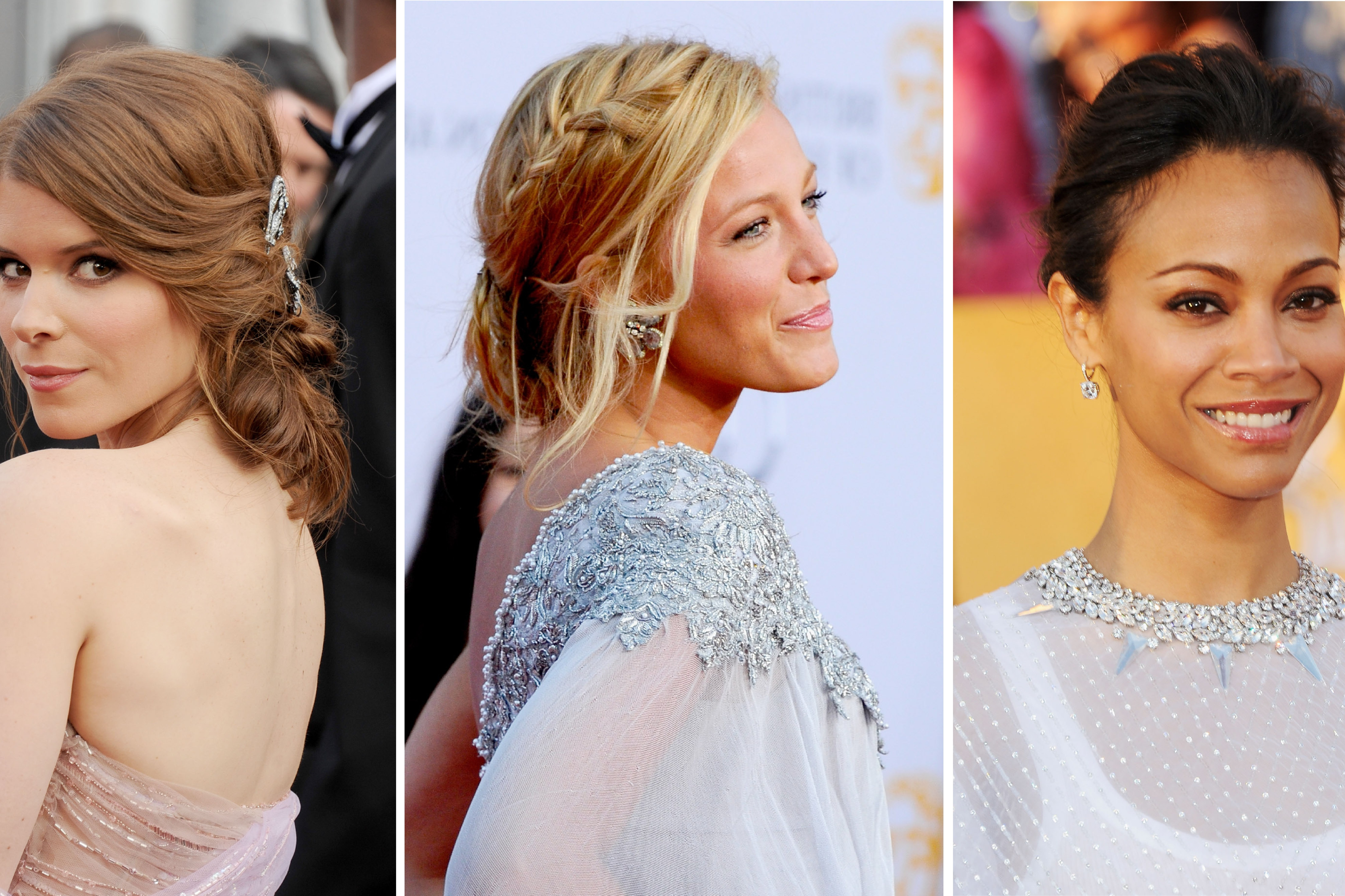 17 Wedding Hairstyles To Try For Every Length – Allure With Regard To Well Known Brushed Back Beauty Hairstyles For Wedding (View 1 of 20)