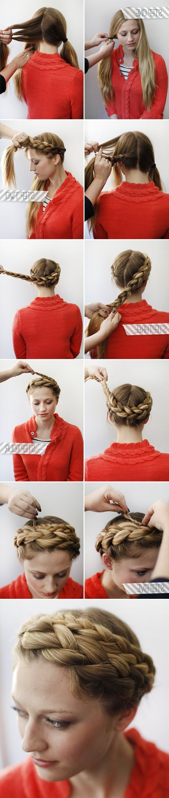 19 Bridal Hairstyle Tutorials For Savvy Brides – Wild About Beauty With Regard To Most Current Criss Cross Wedding Hairstyles (View 18 of 20)