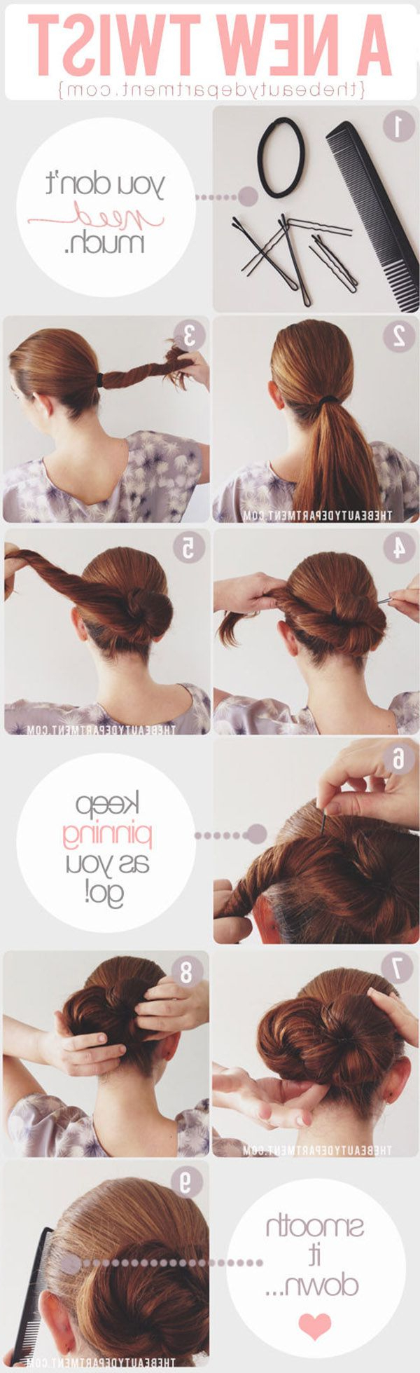 20 Diy Wedding Hairstyles With Tutorials To Try On Your Own (View 1 of 20)