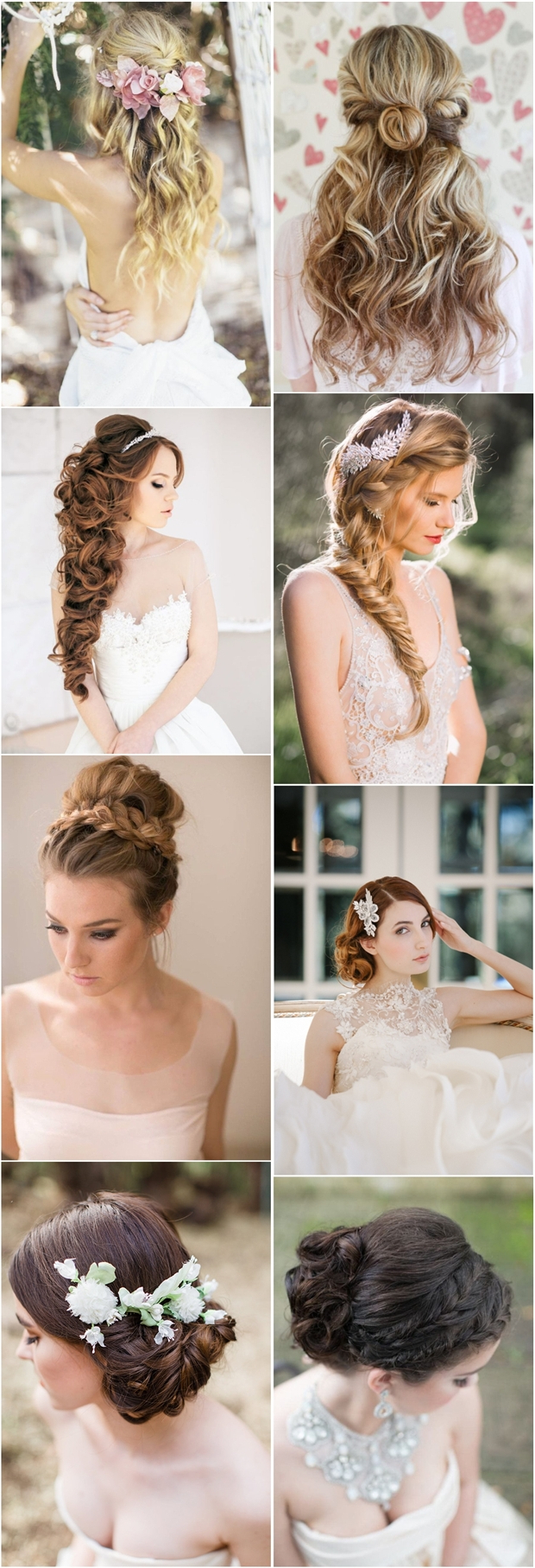20 Fabulous Wedding Hairstyles For Every Bride (View 1 of 20)