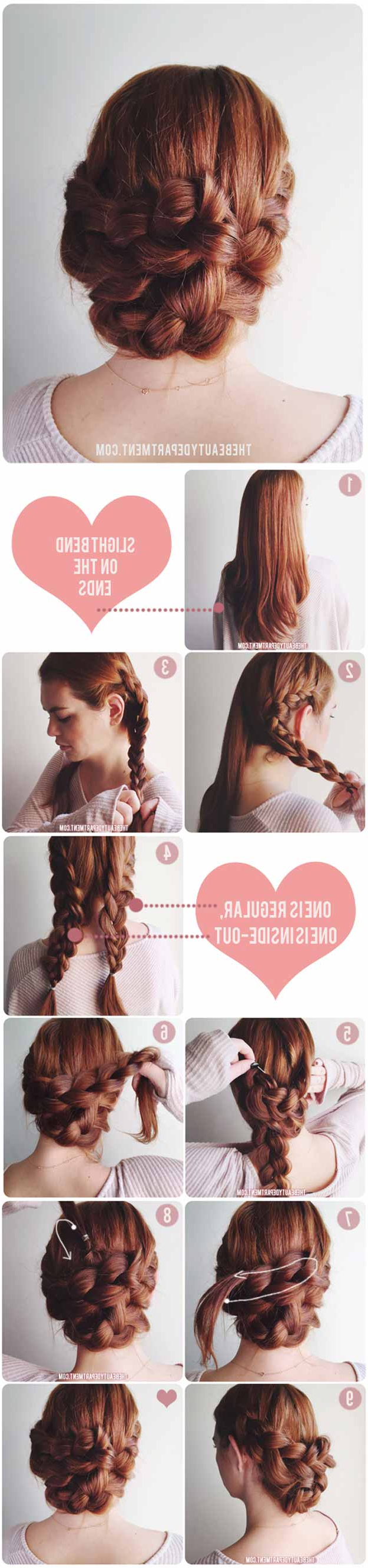 2017 Simple And Cute Wedding Hairstyles For Long Hair For 31 Wedding Hairstyles For Long Hair – The Goddess (Gallery 8 of 20)