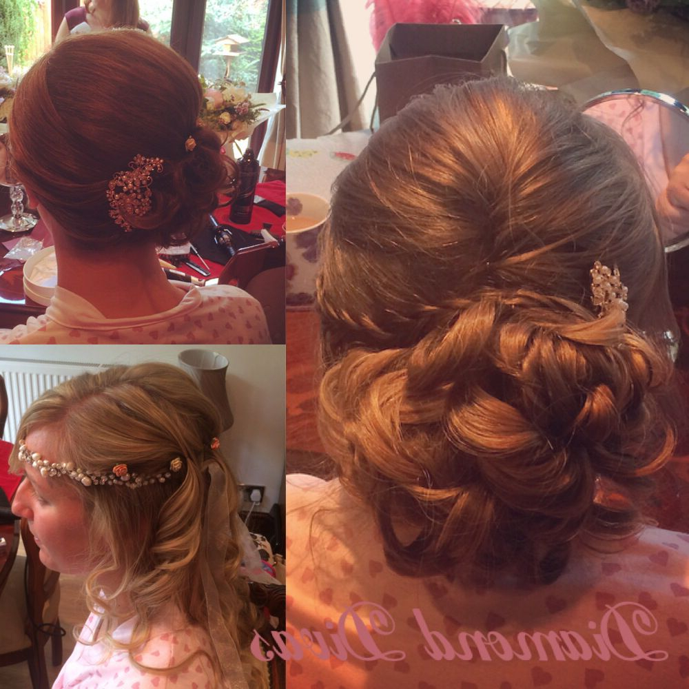 2018 Big And Fancy Curls Bridal Hairstyles Throughout Bridal Hairwww (View 16 of 20)