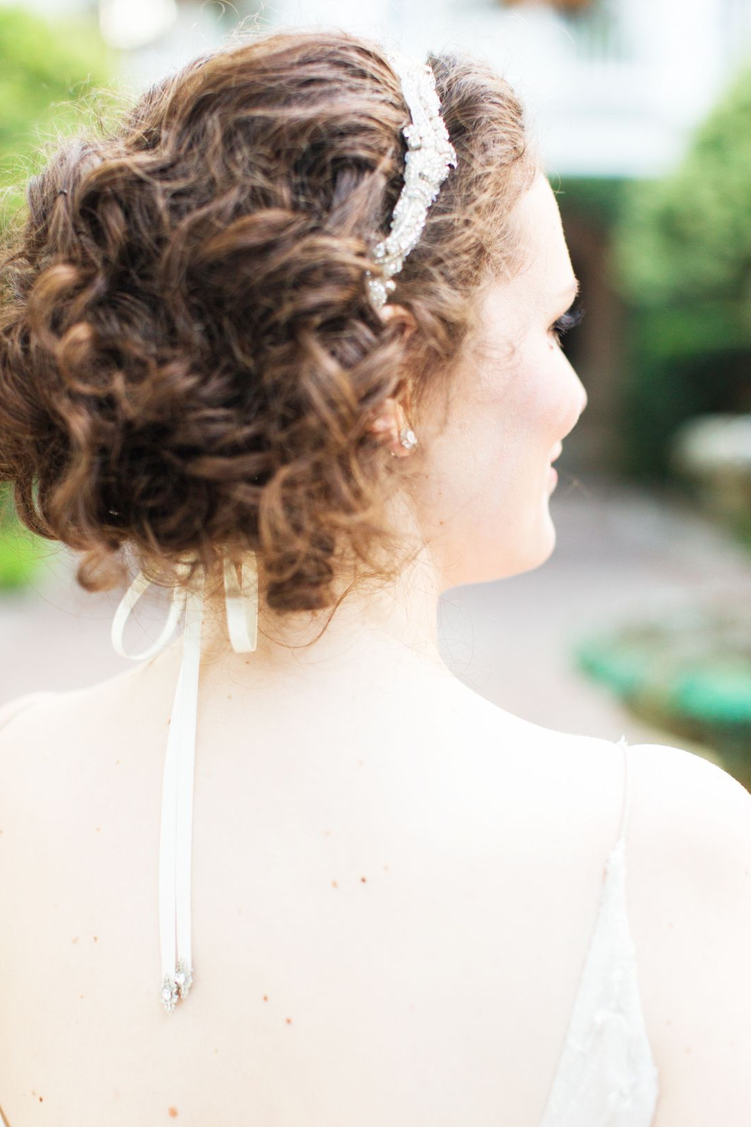 2018 Chignon Wedding Hairstyles With Pinned Up Embellishment Intended For The Smarter Way To Wed (View 12 of 20)