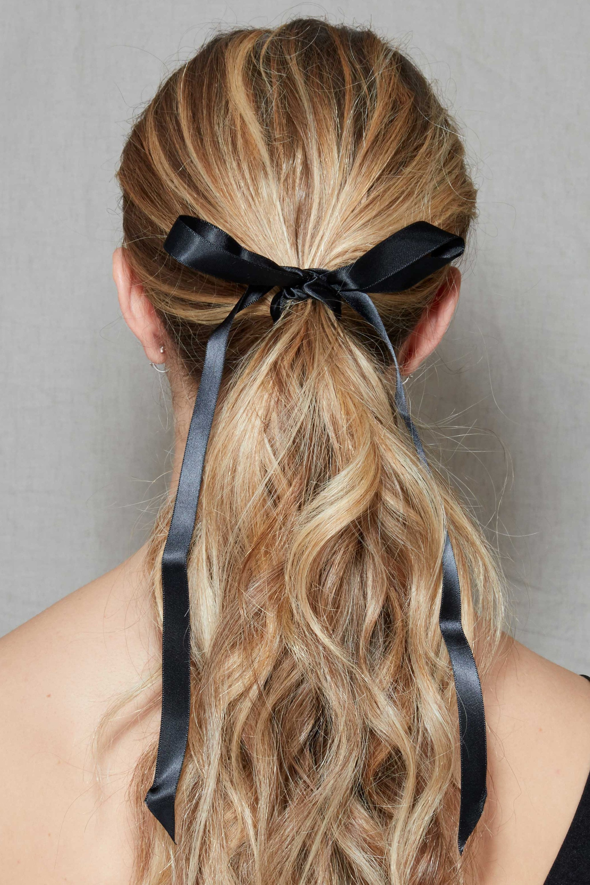 2018 Pinned Brunette Ribbons Bridal Hairstyles In 25 Wedding Guest Hairstyles That'll Make You The Chicest Attendee (View 1 of 20)