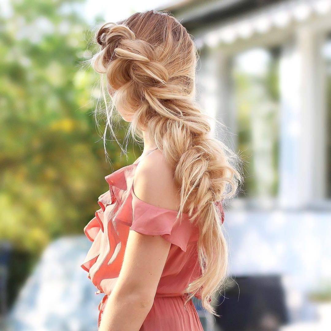 2018 Simple Laid Back Wedding Hairstyles Regarding Another Take On My Last Hairdo But This Time Without The Flowers (View 3 of 20)