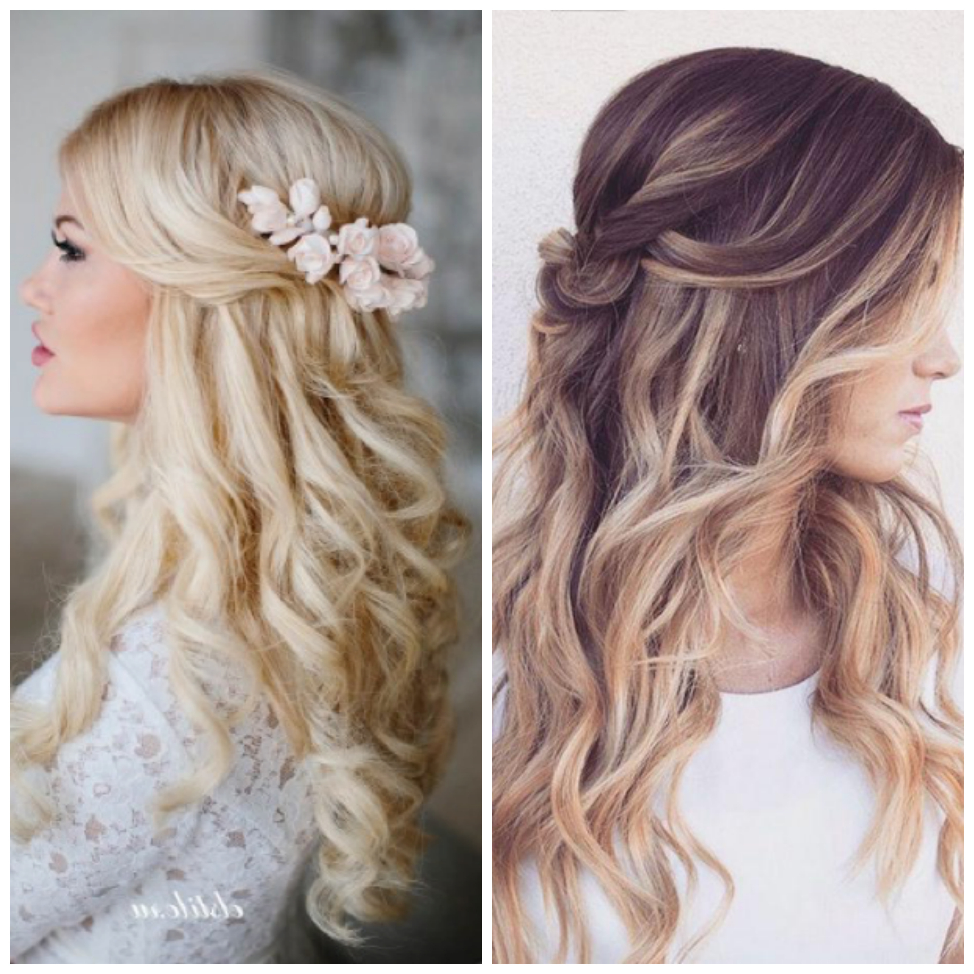 2018 Soft Shoulder Length Waves Wedding Hairstyles Intended For 5 Bridal Hairstyles For Your Wedding Day (View 2 of 20)