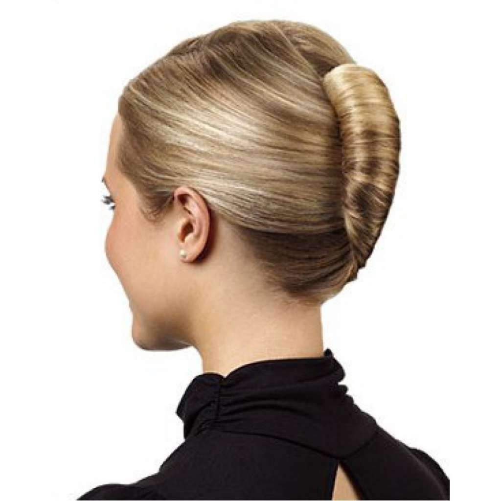 2019 French Roll Hairstyle With Curls Unique Sleek French Twist For With Regard To Recent Sleek French Knot Hairstyles With Curls (View 11 of 20)