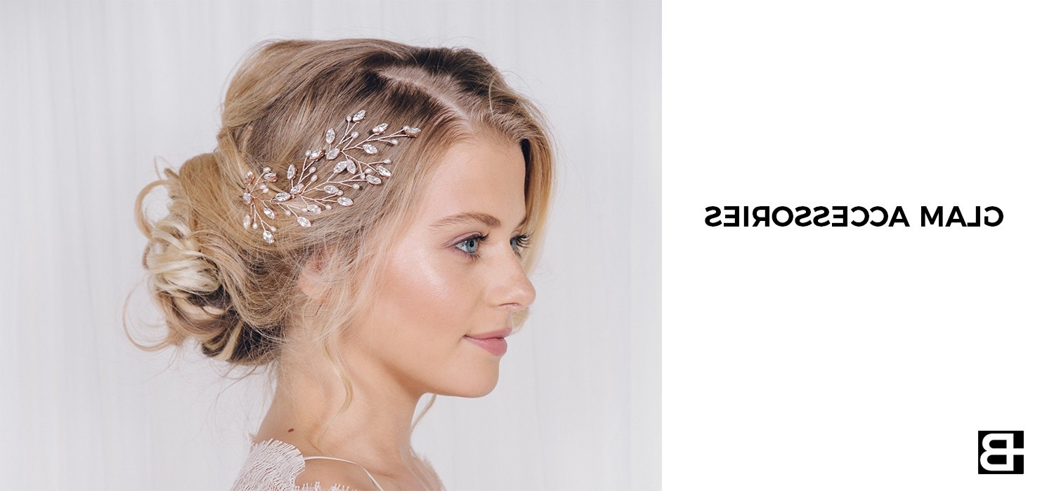 22 Vintage Wedding Hairstyles For Your Classy Fairytale Wedding Regarding Newest Retro Glam Wedding Hairstyles (View 5 of 20)