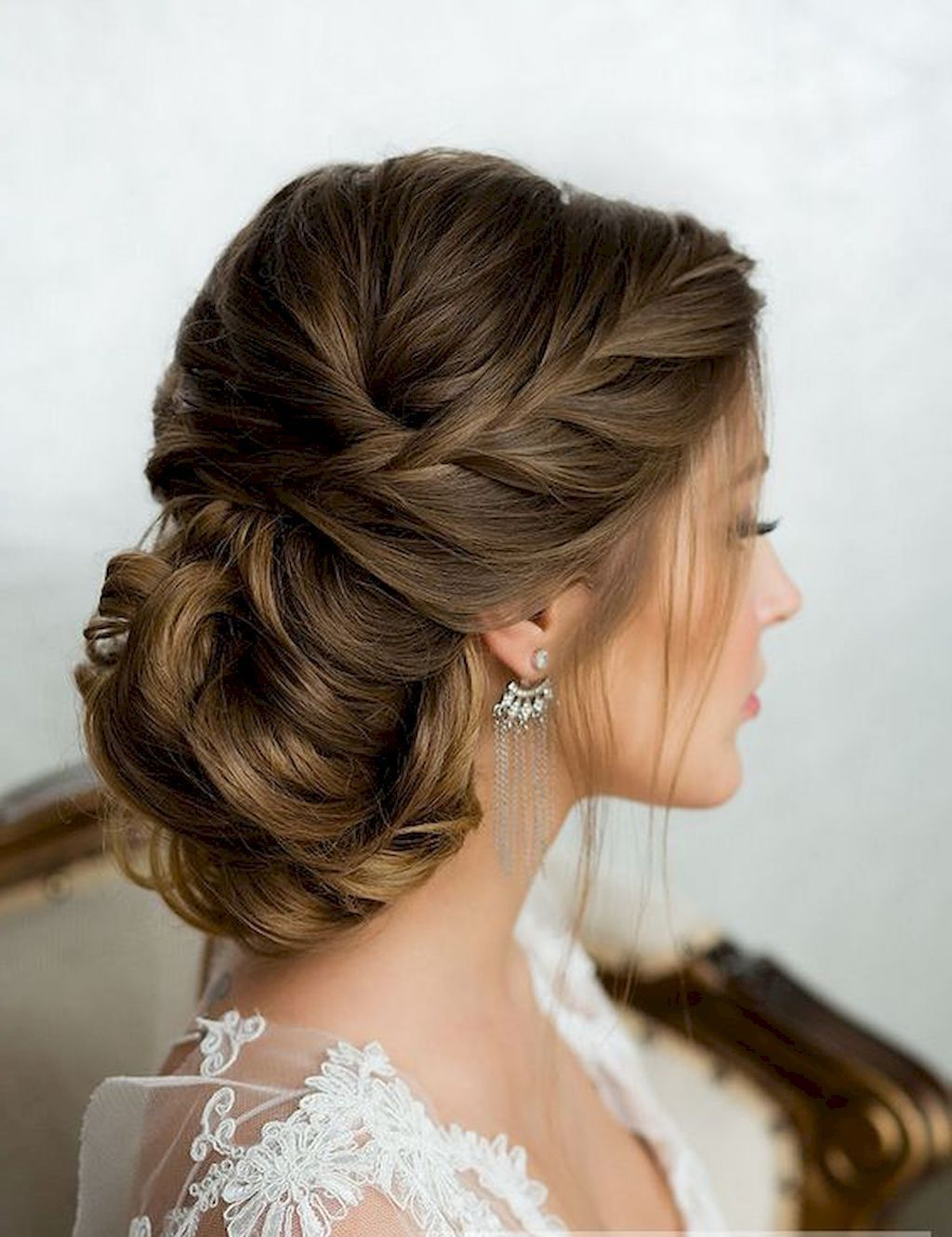 23 Bridal Wedding Hairstyles For Long Hair That Will Inspire (View 18 of 20)