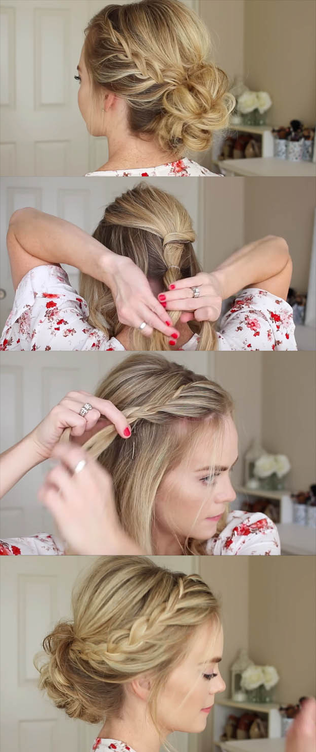 24 Beautiful Bridesmaid Hairstyles For Any Wedding – The Goddess With Most Recently Released Short And Sweet Hairstyles For Wedding (View 16 of 20)