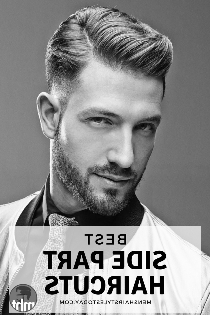 25 Best Side Part Hairstyles + Parted Haircuts For Men (2019 Guide Pertaining To Most Recently Released Sides Parted Wedding Hairstyles (View 1 of 20)