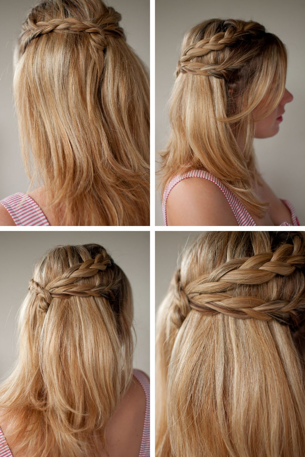 30 Days Of Twist & Pin Hairstyles – Day 20 – Hair Romance In Most Current Twisted And Pinned Half Up Wedding Hairstyles (View 3 of 20)