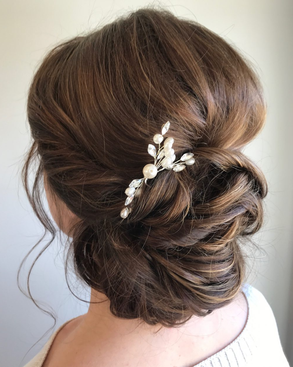 33 Breathtaking Loose Updos That Are Trendy For 2019 Within 2018 Tousled Asymmetrical Updo Wedding Hairstyles (Gallery 18 of 20)