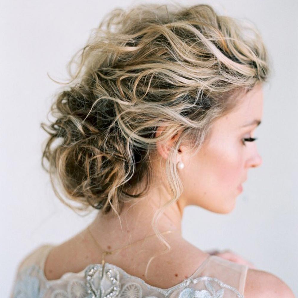 34 Loose Wedding Updos For Brides With Long Hair ⋆ Ruffled Regarding Most Recently Released Subtle Curls And Bun Hairstyles For Wedding (Gallery 6 of 20)