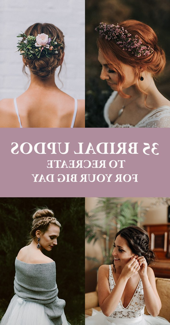 35 Bridal Updos To Recreate For Your Big Day (Gallery 20 of 20)