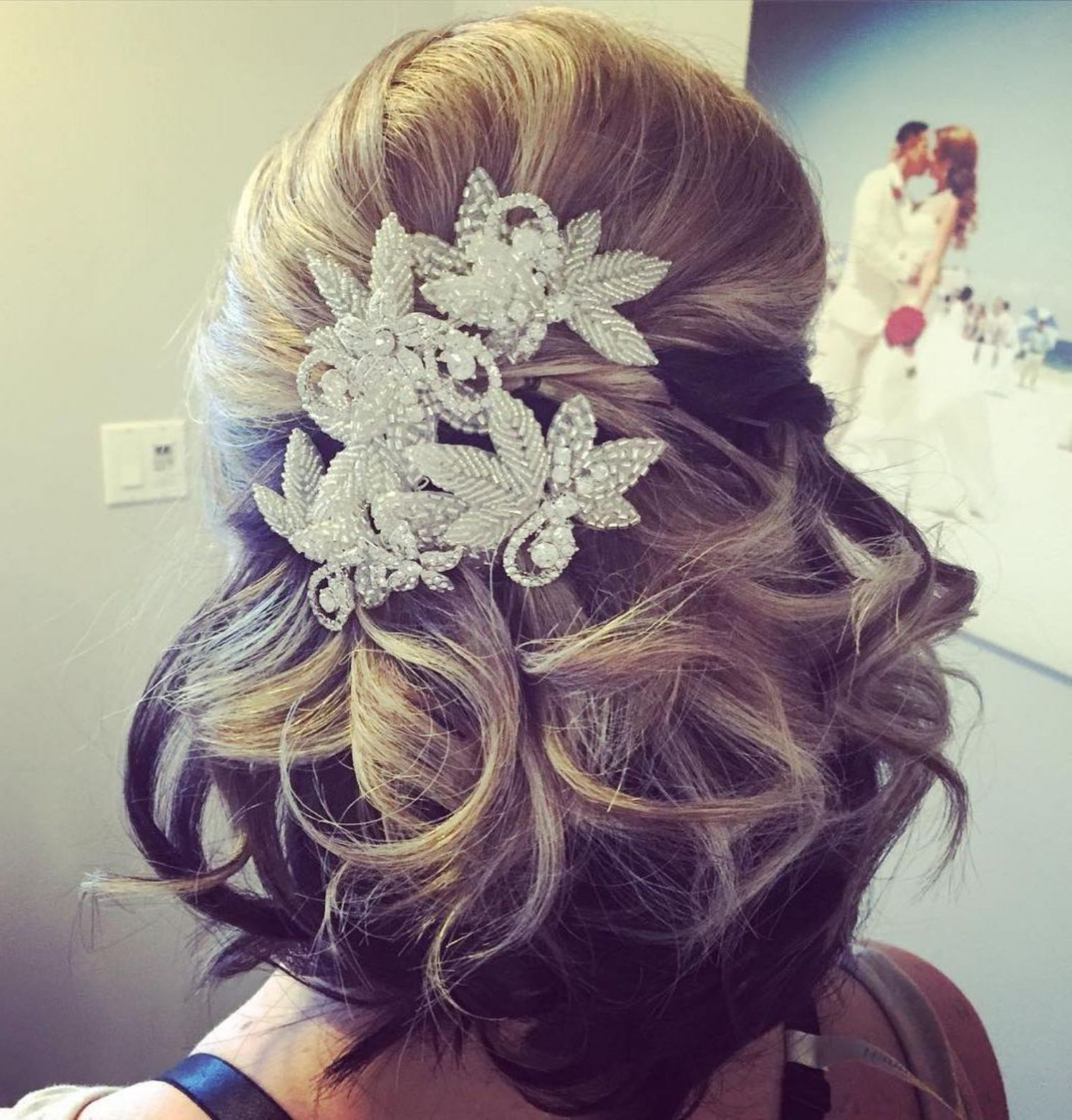 "40 Best Short Wedding Hairstyles That Make You Say ""Wow!"" In 2018 Throughout Most Current Criss Cross Wedding Hairstyles (View 5 of 20)"
