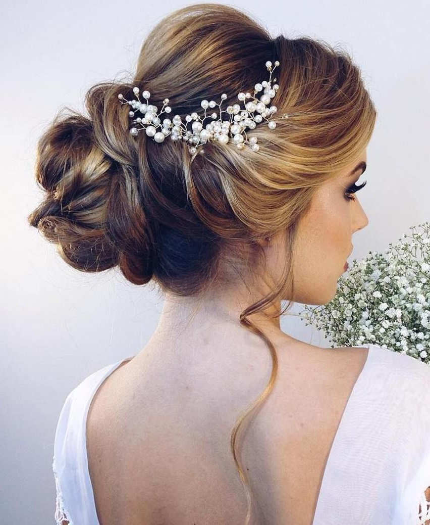 40 Chic Wedding Hair Updos For Elegant Brides (Gallery 5 of 20)