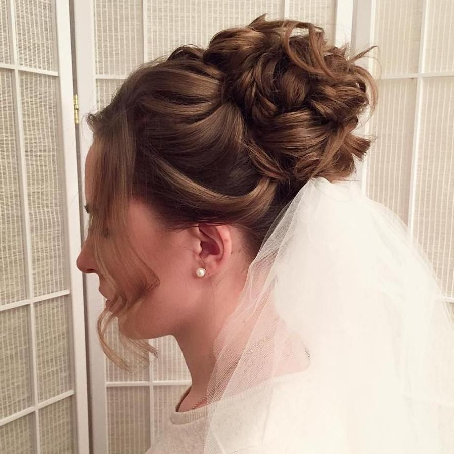 40 Chic Wedding Hair Updos For Elegant Brides (Gallery 4 of 20)