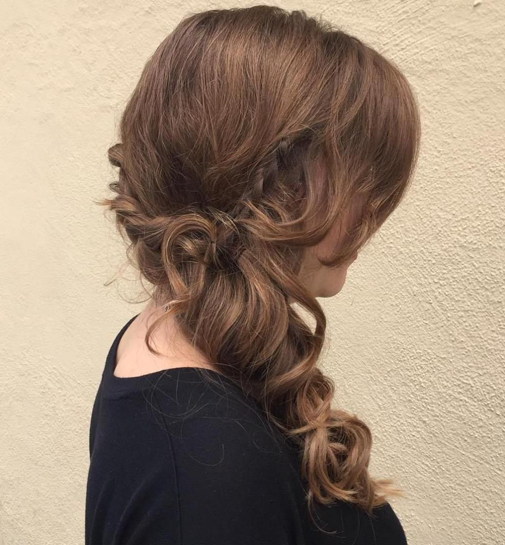 45 Side Hairstyles For Prom To Please Any Taste (View 5 of 20)