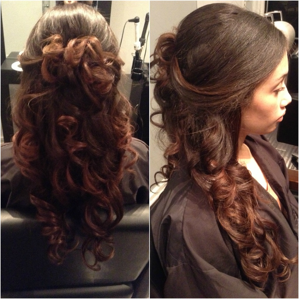 47 Beautiful Half Up Half Down Hairstyles With Bangs (View 6 of 20)