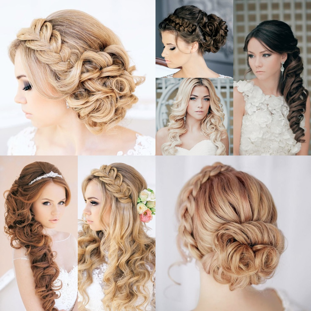 5 Trendy Hairstyles For Brides – Indian Wedding Planning – Wedding Intended For Most Recently Released Sectioned Twist Bridal Hairstyles (Gallery 6 of 20)