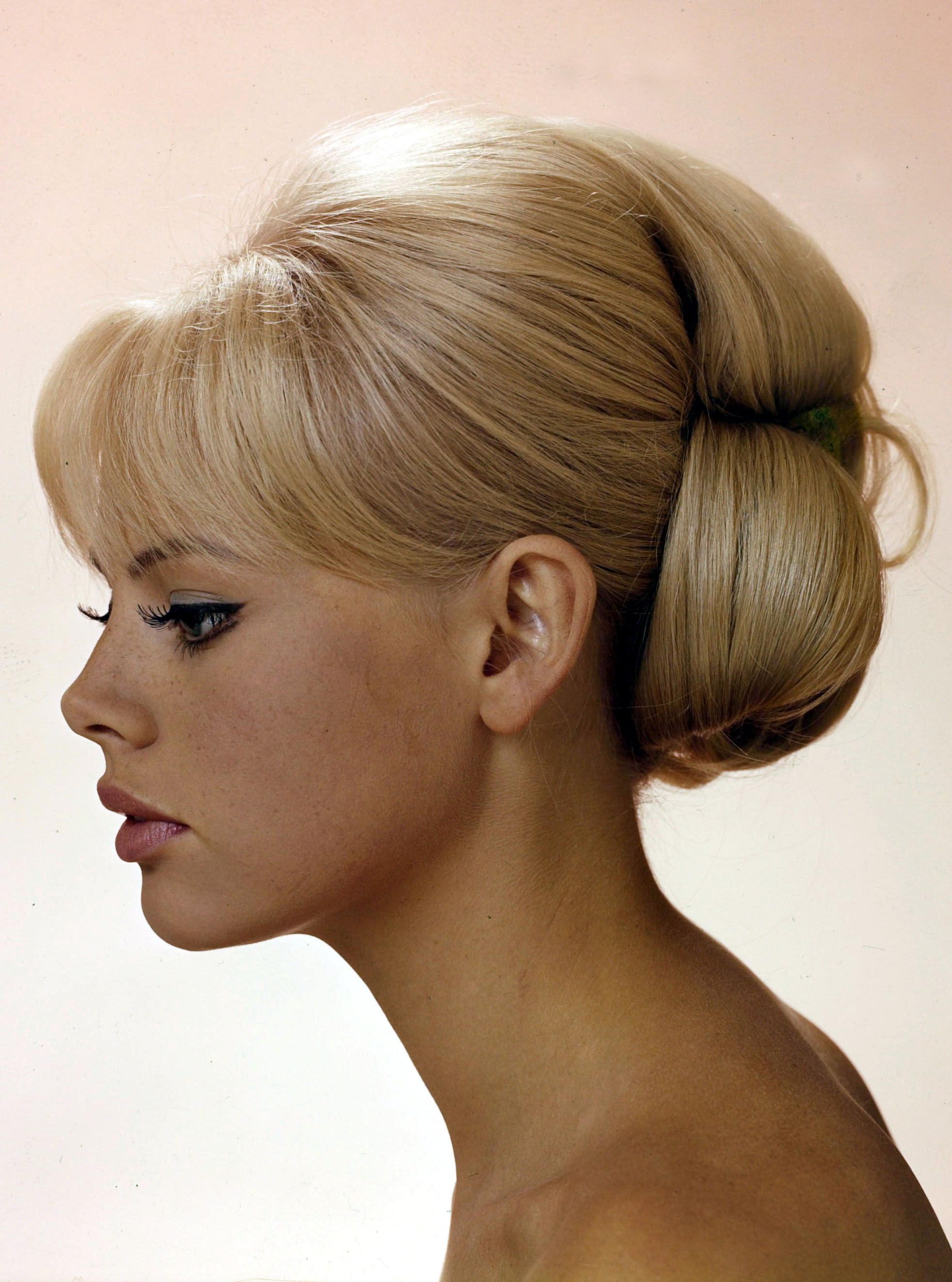 50S 60S Style. So I Looked Up Vintage Wedding Intended For Well Known Sleek Low Bun Rosy Outlook Wedding Updos (Gallery 4 of 20)